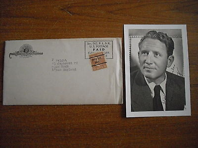 Spencer Tracy - Photograph - 1947 - Printed Signature