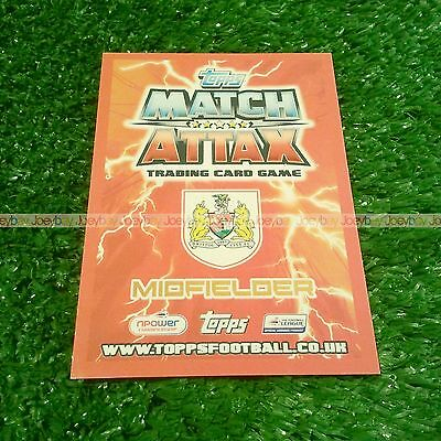 12/13 Bristol City - Derby County Base Card Match Attax Championship 2012 2013