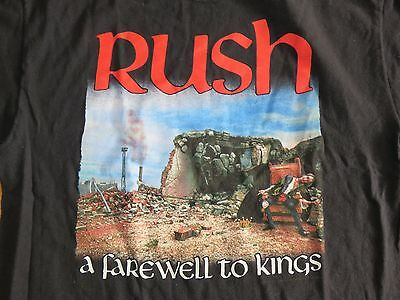 "2007 Retro RUSH ""A Farewell to Kings"" (LG) T-Shirt"