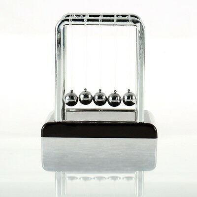 Newton's Cradle Fun Steel Balance Ball Physics Science Desk Toy Accessory Gift F