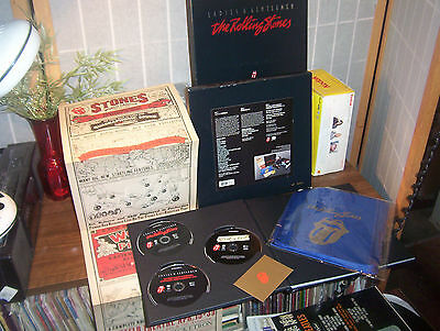 THE ROLLING STONES Ladies and Gentlemen 3 DVD BOX SET COMPLETE & NUMBERED