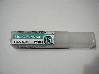 "Metal removal 7/16"" Carbide endmill"