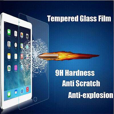 9H Premium Tempered Glass Screen Protector Film for Apple iPad mini1/2/3 Air1/2