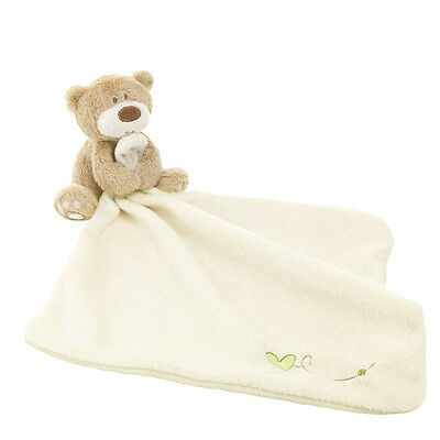 Newborn Lovely Bear Blankie Development Soft Baby Toy Toddler Best Gift Toy