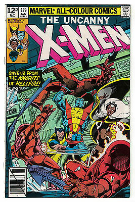 Marvel Comics THE UNCANNY X-MEN Issue 129 Save Us From Knights Of Hellfire FN+