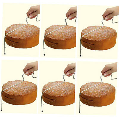 Adjustable Wire Cake Slicer Cutter Leveller Decorating Bread Wire Decor Tool FJA
