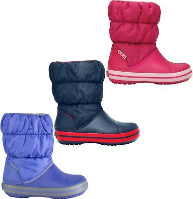 Crocs WINTER PUFF BOOT Kids Boys Girls Unisex Warm Insulated Lined Snow Boots