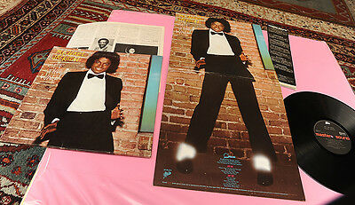 Michael Jackson Lp Off The Wall Japan Orig 1979 Insert Obi Poster Cover And Sur-