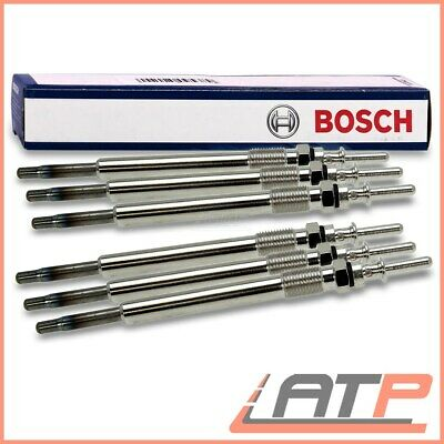 6x Bosch Glow Plugs for MERCEDES CLS 3.0 CLS320 CLS350 CDI OM642 NO SCR