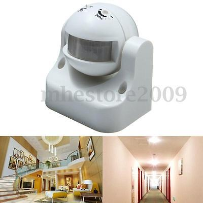 Outdoor Security Infrared PIR Motion Sensor Detector Wall LED Light Switch 180°