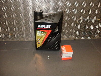Yamaha fully synthetic oil service kit MT09    genuine items only