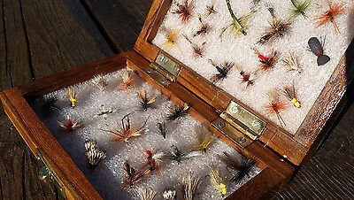 Flextec Premium Special Dry Flies Fly Fishing Selection x 40pcs