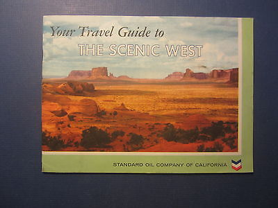 Old Vintage 1958 Travel Guide to the SCENIC WEST - Standard Oil Co of California