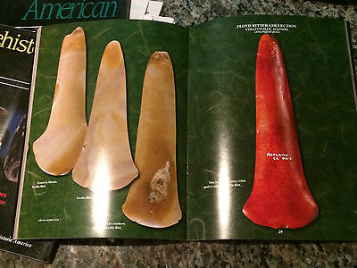 Special Spud Spatulate Edition Prehistoric American Indian Artifacts Book 2 2006