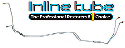 1981-87 Chevrolet Truck 2wd Transmission Cooler Lines T350 T400 Trans Tube OE