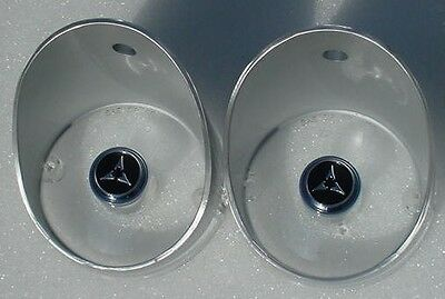 Mopar 68 69 Charger Park Light lens pair NEW R/T
