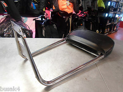 Vespa Px Lml 125  Italian Bologna Made Rear  Backrest Sissy Bar New Genuine