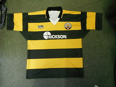 Vintage Castleford Tigers Large Mens Rugby League Shirt