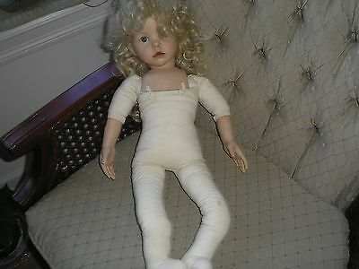"""Diana Effner Ultimate Collection Circa 1987 22 Inch Porcelain Doll Named """"hilary"""