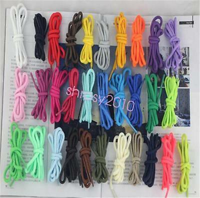 """Round OVAL 54"""" Athletic Shoe Laces Shoelace BOOTLACE strings F Sneakers boot"""