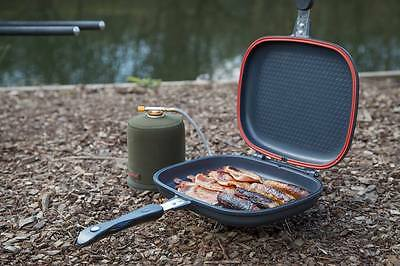 Taska Carp NEW Fishing Camping Heavy Duty Fryer Grill Pan Toaster - TAS1850