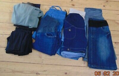 10 Pairs Maternity Trousers Pants Skirt Jeans Leggings Patch Egg Ripe Size 8