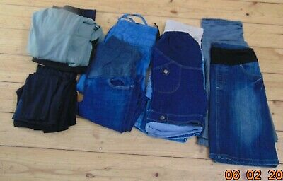 9 Pairs Maternity Trousers Pants Skirt Jeans Leggings Patch  Ripe Size 8