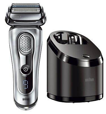 BRAUN 9090cc Series 9 Mens Cordless Washable Electric Shaver SyncroSonic *NEW*