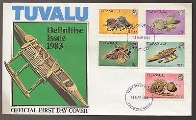 1983 TUVALU Definitive Issue Official FDC
