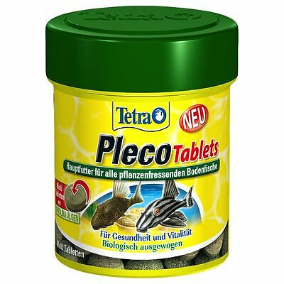 TETRA PLECO TABLETS 18g,36g,85g  Complete food for all tropical fish