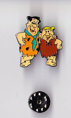 THE FLINTSTONES FRED & BARNEY HANNA BARBERA pin badge