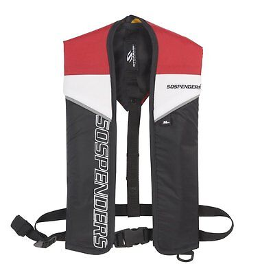 Stearns Sospenders 1271 Manual Inflatable Life Vest - Red