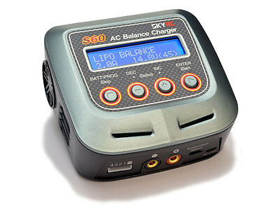 SkyRC S60 AC Charger 60W 6A #SK-100106