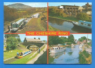 The Cheshire Ring.canal Postcard