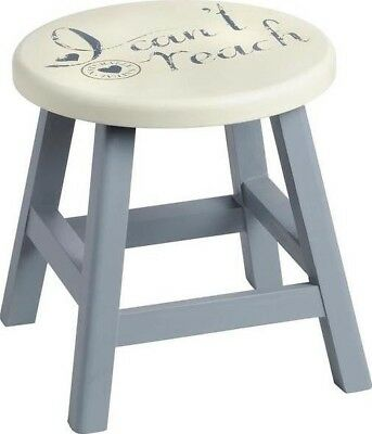 Hill Interiors Vintage Natural I Can't Reach Step Stool Wooden Slate | Kitchen