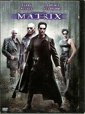 "DVD ""The Matrix"" (1999) Keanu Reeves, Laurence Fishburne"