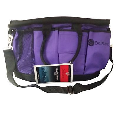 Purple Belstane Large Organiser Bag Nappies Fishing Equestrian Gardening Tools