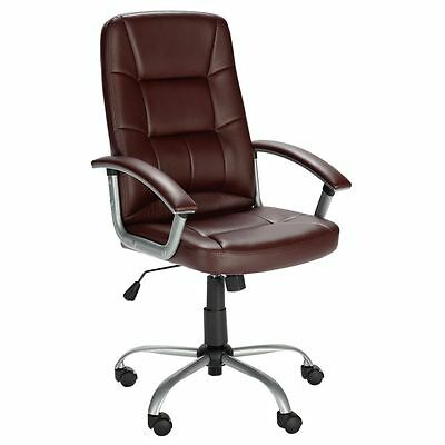 Walker Height Adjustable Office Chair - Brown - Free 90 Day Guarantee