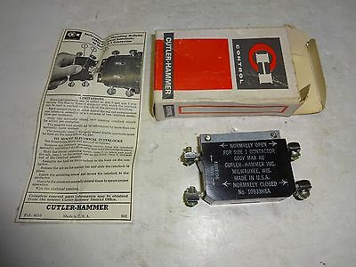 Cutler Hammer 10933H6A Auxiliary Contact Kit