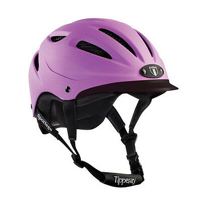 NEW Tipperary Sportage 8500 Helmet- Purple- Various Sizes
