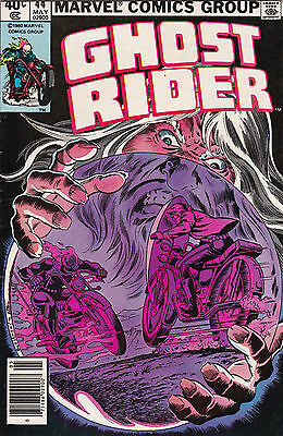 1980 Marvel Comics The Ghost Rider Comic Book #44