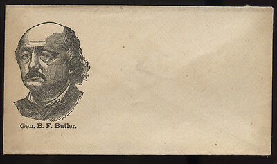 CIVIL WAR cachet ~ GENERAL BUTLER