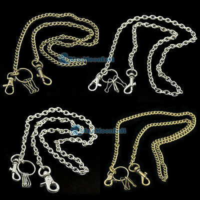 Chain Swivel Spring Hook Clip Keychain Cash Purse Handbag Bags Biker Jean Skater
