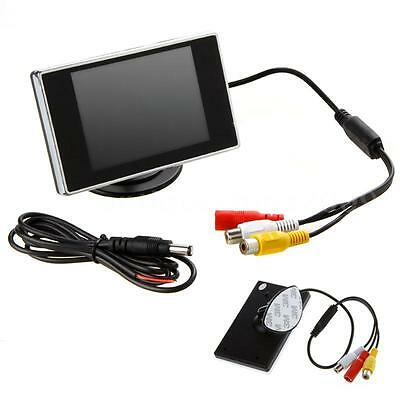 3.5inch TFT LCD Car Rearview Monitor Screen For Reverse Camera Sensor DVD X6V0