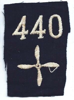 WWI 440th Aero Squadron Enlisted Patch