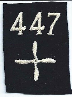 WWI 447th Aero Squadron Enlisted Patch