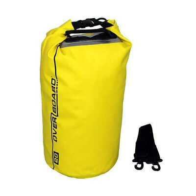 OverBoard 20 Litre Waterproof Dry Tube With Clear Window New Uk OB1057Y