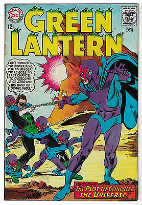 DC Comics GREEN LANTERN Issue 37 The Plot To Conquer The Universe! VG/F