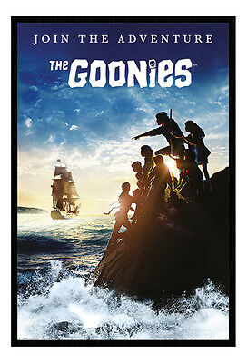 Framed The Goonies Join The Adventure Poster New