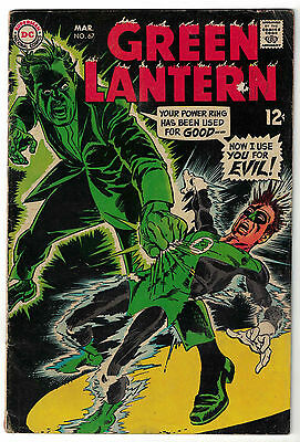 DC Comics GREEN LANTERN Number 67 Now I Use You For Evil! VG+
